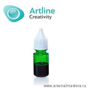 Краситель для эпоксидной смолы жидкий Artline Transparent Colorant 10 мл зеленый KR-00-005-GRN