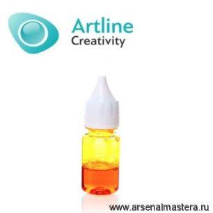 Краситель для эпоксидной смолы жидкий Artline Transparent Colorant 10 мл желтый KR-00-005-YEL