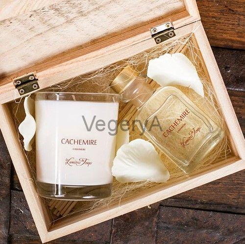 Подарочный набор деревянный сундучок (КАШЕМИР) LUMIERES