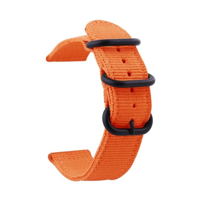 Тканевый ремешок для Xiaomi Amazfit Bip ( Оранжевый )