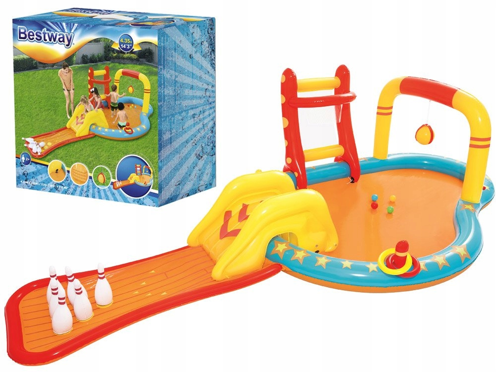 Надувной детский бассейн.