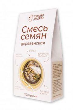 """Древо жизни - СМЕСЬ СЕМЯН """"Деревенская"""" 200гр"""