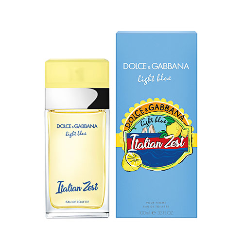 Туалетная вода Dolce & Gabbana Light Blue Italian Zest 100 мл
