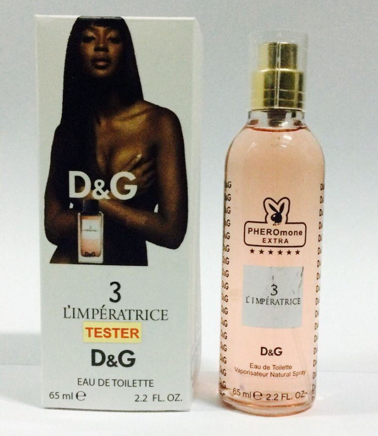 "Мини парфюм с феромонами D&G ""3 L'Imperatrice"" for women (65мл)"
