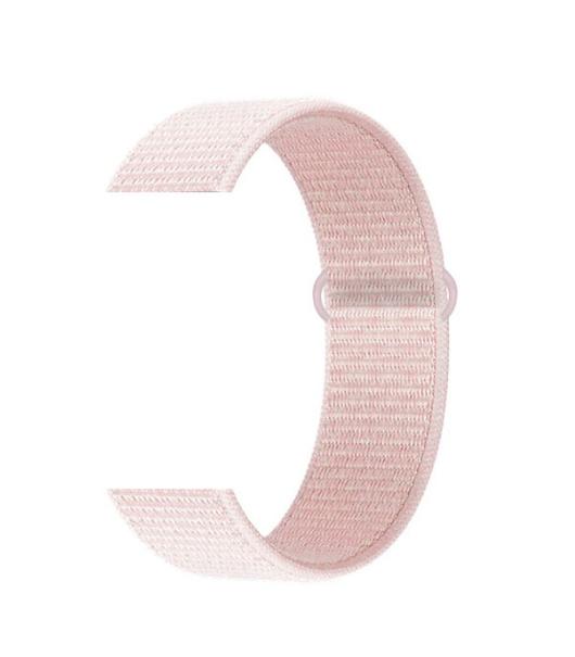 Тканевый ремешок (Липучка) для Xiaomi Amazfit Bip 20мм ( Розовый )