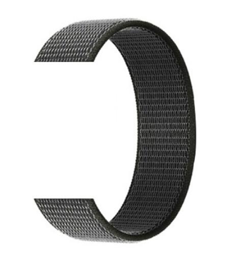 Тканевый ремешок (Липучка) для Xiaomi Amazfit Bip 20мм ( Серый )