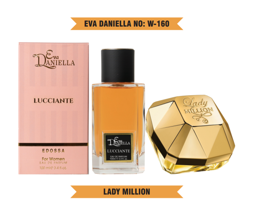 Eva Daniella № W-160-Paco Rabanne Lady Million 100 мл
