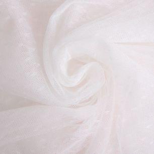 Мягкий фатин - Горошек молочный 150*25см.