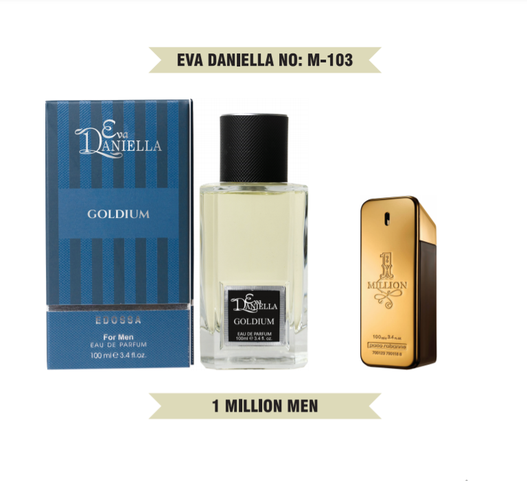 Eva Daniella № M-103-Paco Rabanne 1 Million 100 мл