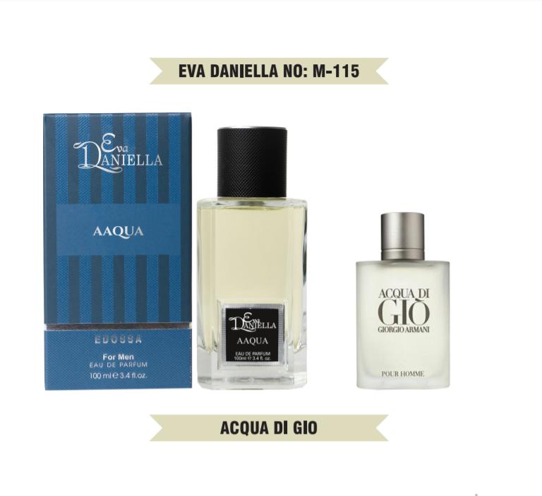 Eva Daniella № M-115-Giorgio Armani Acqua Di Gio For Men 100 мл