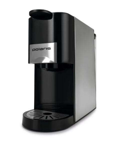 Кофеварка Polaris PCM 2020 3-in-1, черный/серебристый