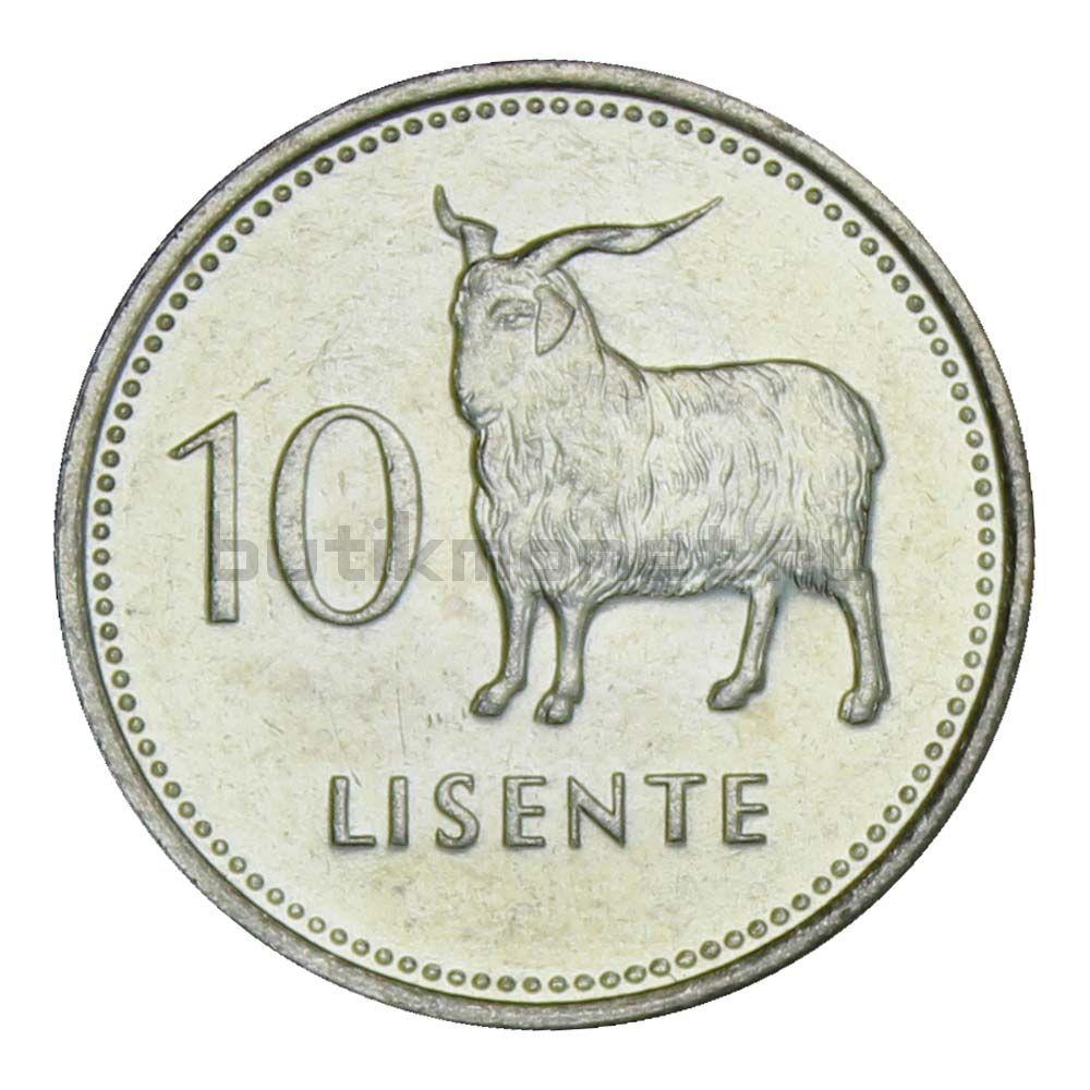 10 лисенте 1983 Лесото