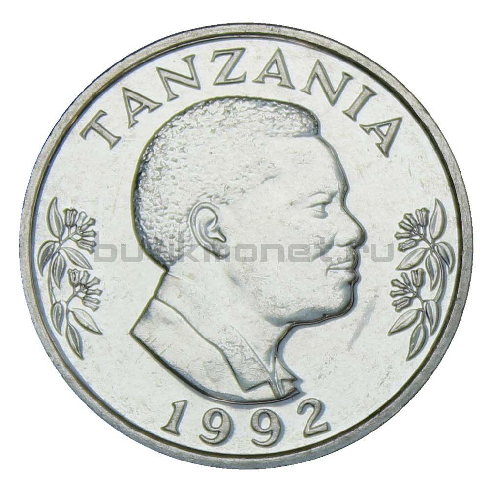 1 шиллинг 1992 Танзания