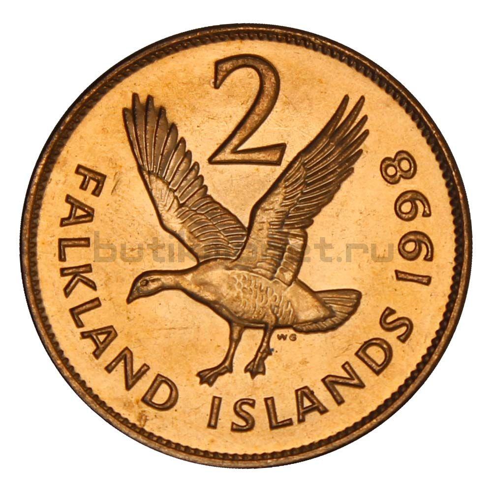 2 пенса 1998 Фолклендские острова