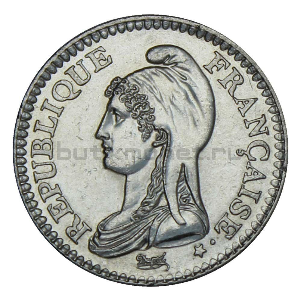 1 франк 1992 Франция 200 лет Французской Республике