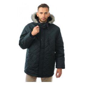 Куртка мужская зимняя Аляска черная