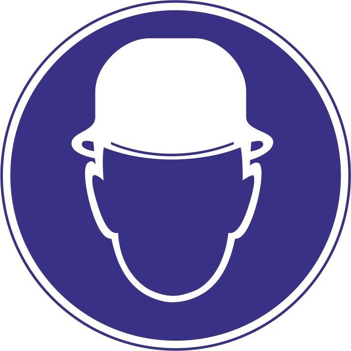 """M02 """"Работать в защитной каске (шлеме)"""""""