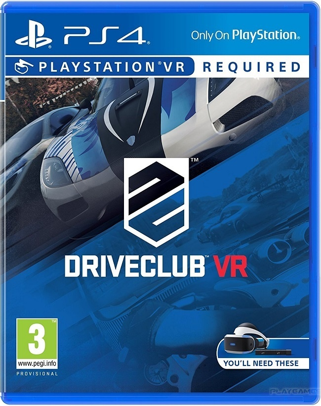 DRIVECLUB VR  для ps4