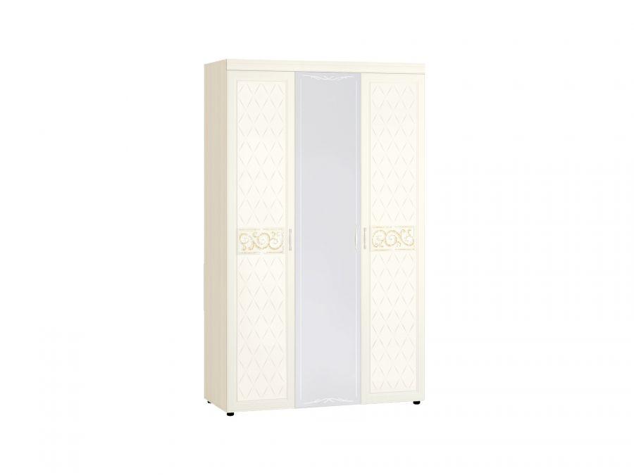 Шкаф «Тиффани 93.12» трехдверный с зеркалом