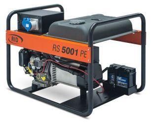 Бензиновый генератор RID RS 5001 PE