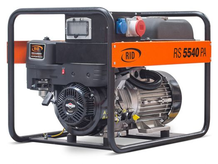 Бензиновый генератор RID RS 5540 PAE