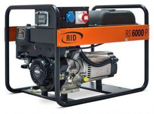 Бензиновый генератор RID RS 6000 P