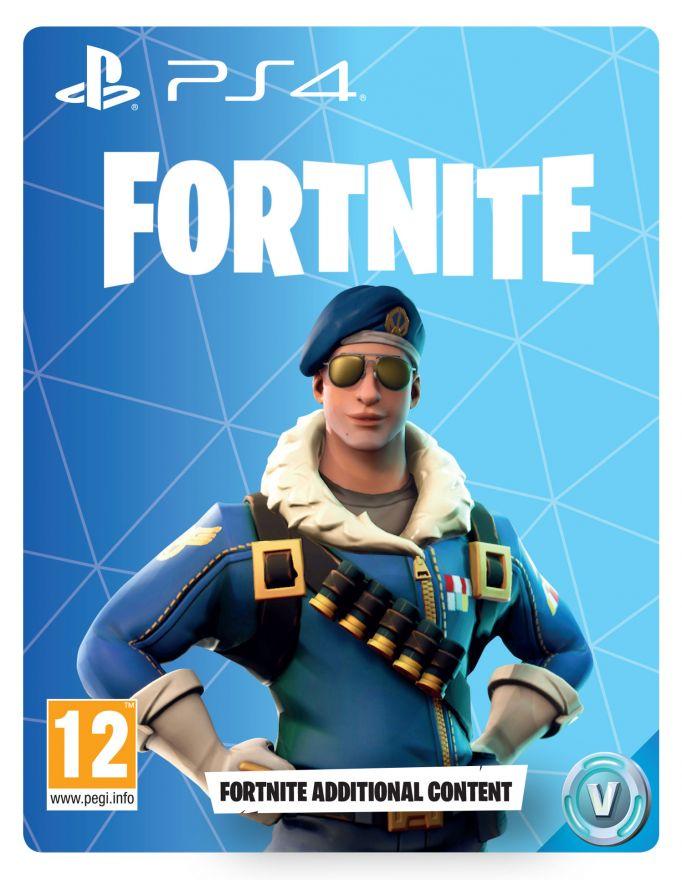 Игра FORTNITE (PS4) (Код на загрузку)
