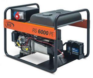 Бензиновый генератор RID RS 6000 PE