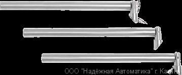 Преграждающие планки Антипаника из шлифованной нержавеющей стали «PPS-06R»