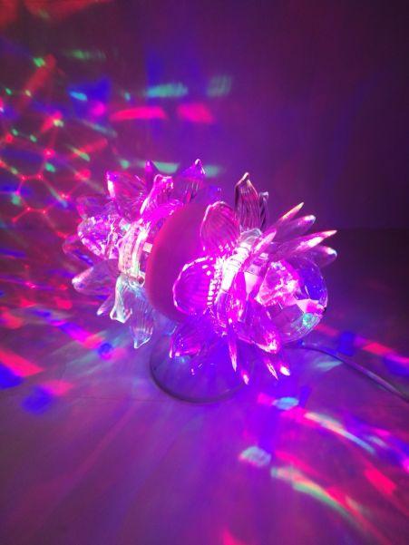 Светодиоидный LED-светильник с двойным лотосом Leiwen, 15 см