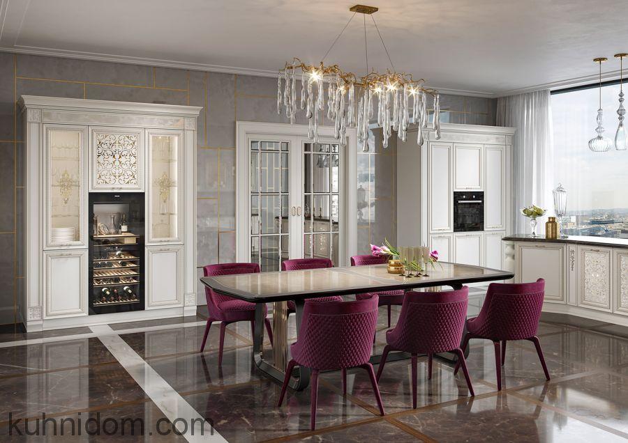 Кухня Венето Классико с буфетом