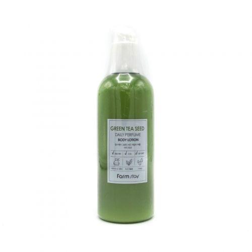 721740 FarmStay Парфюмированный лосьон для тела с экстрактом зеленого чая Green Tea Seed Daily Perfume Body Lotion