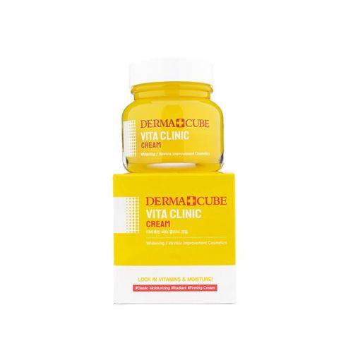 122453 FarmStay Крем для молодости и сияния кожи Derma Cube Vita Clinic Cream