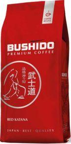 Кофе зерновой BUSHIDO Red Katana, 1000 г