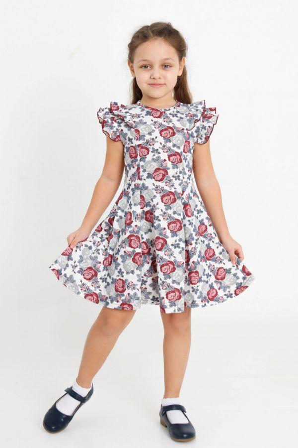 Платье Розолина детское [молочный]