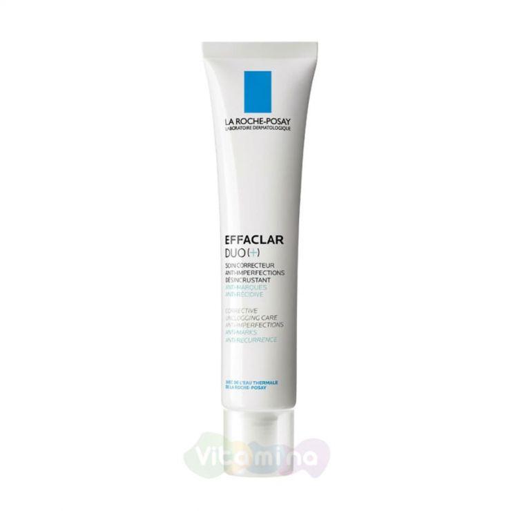 La Roche-Posay Effaclar Duo (+) Корректирующий крем-гель для проблемной кожи, 40 мл
