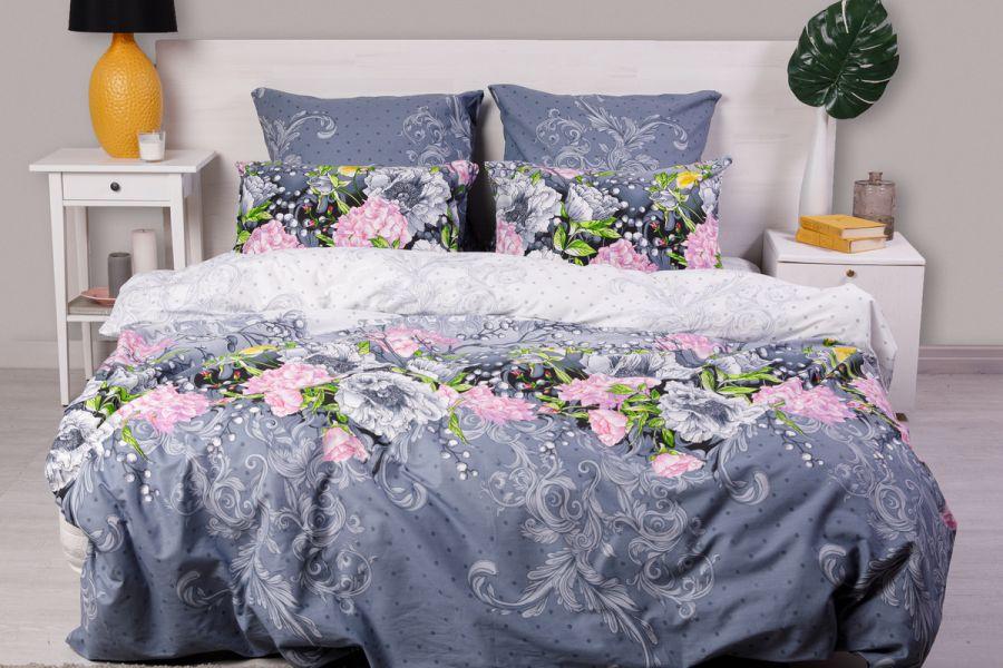 Поплин 1.5 спальный [в ассортименте] Нежность постельное белье