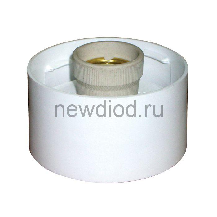 Светильник без стекла НББ 64-60-080 корпус прямой белый с датчиком ГИ