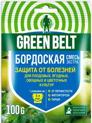 Бордосская смесь  100г  (от фитофтороза, парши и др. болезней).