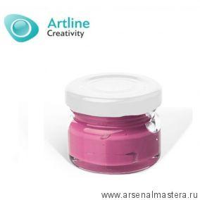 Пигментная паста для эпоксидной смолы 10 гр бордово - фиолетовая Pigment Paste Artline PST-00-010-BFI
