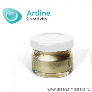 Пигментная паста для эпоксидной смолы 10 гр золотистая Pigment Paste Artline PST-00-010-GLD