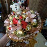 """Букет из конфет №739-1К """"С любовью"""""""