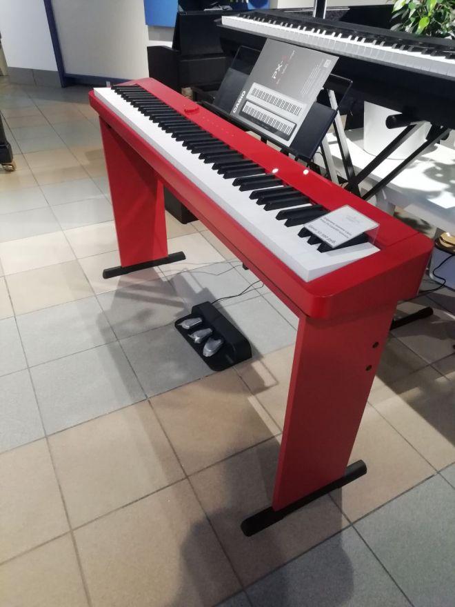 Деревянная красная стойка для Casio CDP-S, PX-S