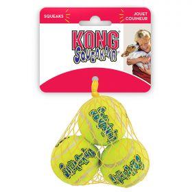 """KONG игрушка для собак Air """"Теннисный мяч"""" очень маленький (в упаковке 3 шт.) 4 см"""