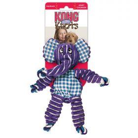KONG игрушка для собак Floppy Knots Слон большой 36х19 см