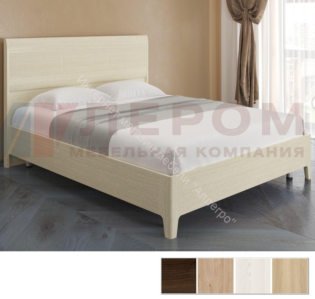 Кровать КР-2863  (1,6х2,0) с  жестким изголовьем Мелисса