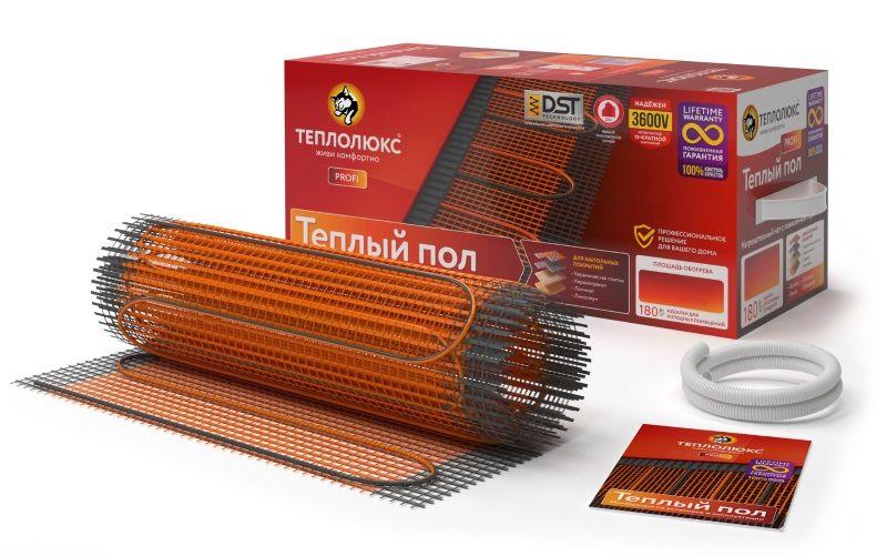 Нагревательный электрический мат Теплолюкс ProfiMat 1800 Вт (площадь обогрева 10 м2)