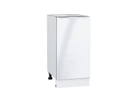 Шкаф нижний с 1-ой дверцей Фьюжн Н400 в цвете Angel