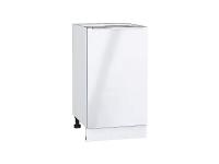 Шкаф нижний с 1-ой дверцей Фьюжн Н450 в цвете Angel