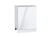Шкаф нижний с 1-ой дверцей Фьюжн Н600-Ф46 в цвете Angel